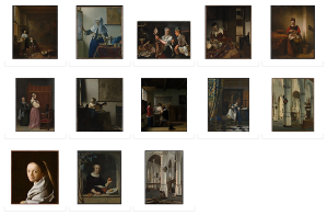 "Some of the objects included in the Metropolitan Museum's exhibition about a single Vermeer painting, ""The Milkmaid."""