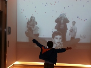 Interactive art at 21C.
