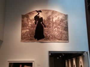 Art by Kara Walker on view at the 21C hotel in Louisville