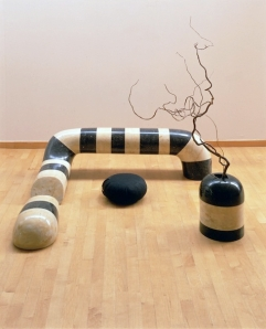 "Isamu Noguchi, ""Floor Frame: Remembering India"""