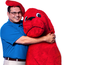 Brian with clifford