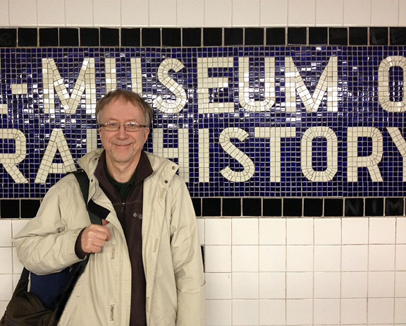 Brian subway at AMNH