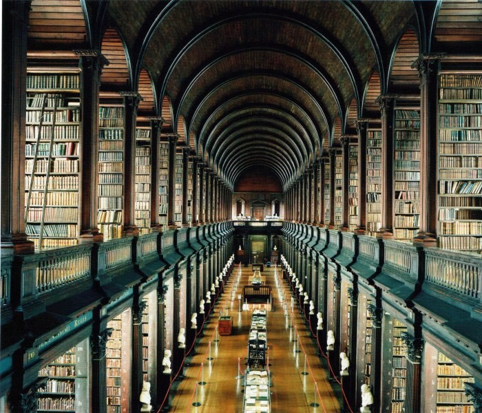 Candida Hofer, Trinity College Library