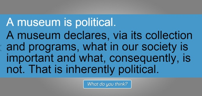 Durant - A Museum is political 2