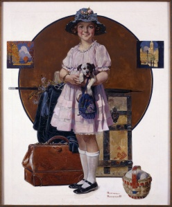 Norman Rockwell, Vacation's Over
