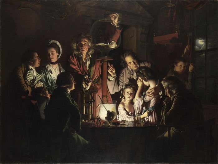 Joseph Wright of Derby, An Experiment on a Bird in an Air Pump, 1768
