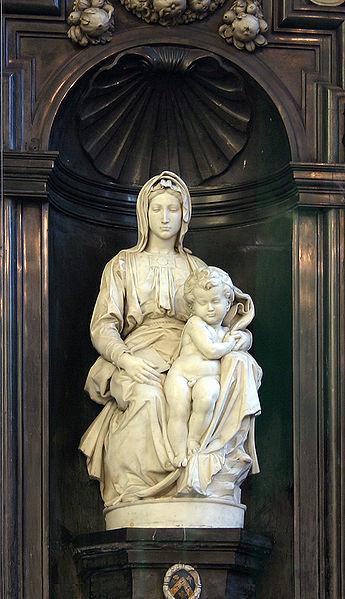 Michelangelo, Madonna with Child, 1501-4, Onze Lieve Vrouwekerk, Bruges