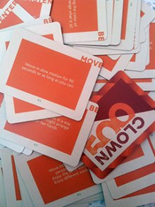 500 Clown card deck from the Smart Museum.