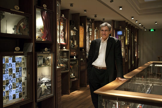 Pahmuk in his museum