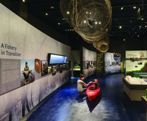 The Illinois River Experience exhibition at the Peoria Riverfront Museum