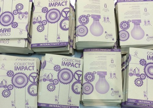 Notebooks distributed at InterActivity 2016