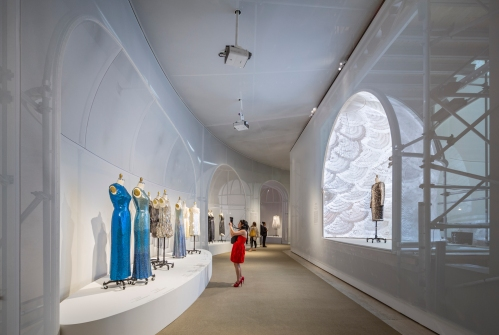 Manus x Machina, Fashion in an Age of Technology, Exhibit at the Met, Location: New York NY, Architect: OMA