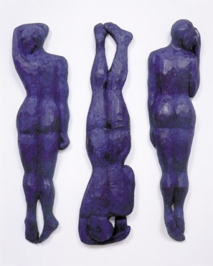 Black Bottom Blues, Alison Saar, 2001, oil on carved wood. Copyright Alison Saar. Collection of the Springfield Art Museum